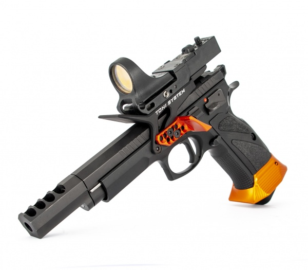 Attacco laterale per C-More per CZ Tactical Sport